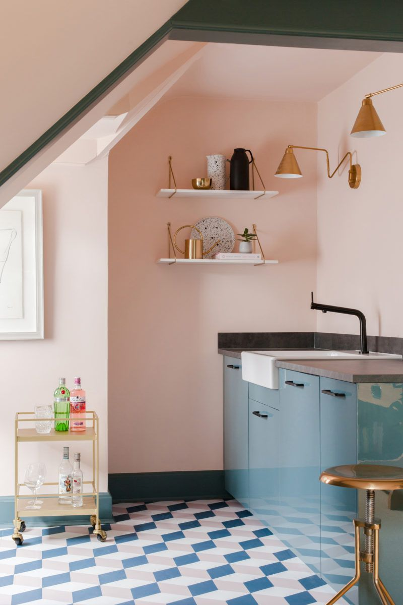 Benjamin Moore Color of the Year 2020: First Light paint and floor inspiration