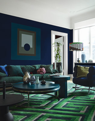 Pantone's 2020 Color of the Year Is Classic Blue mixed with green