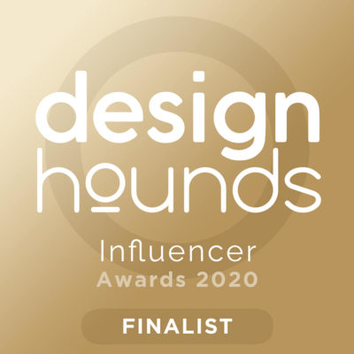 Ann Porter Design Hounds Influencer awards finalist