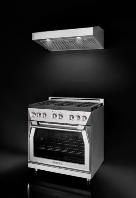 Forza Appliances Offer Italian Design for the range and hood
