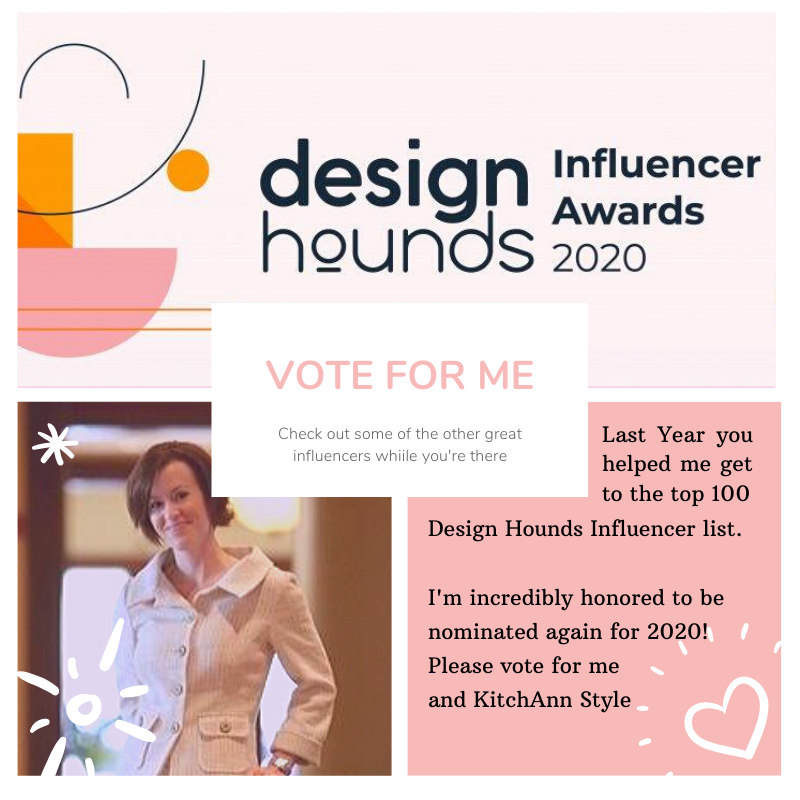 Ann Porter, KitchAnn style Design Hounds influencer finalist