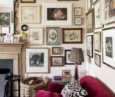 Style Guide: Eclectic Design | Gallery Wall