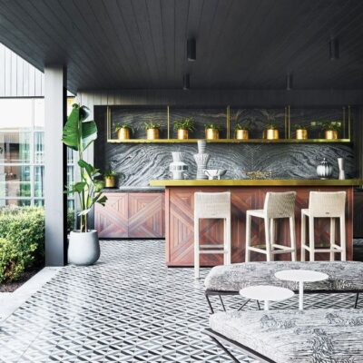 Style Guide: Eclectic Design Outdoor kitchen