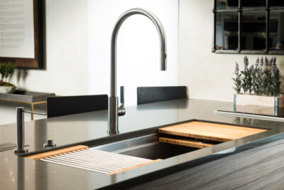 Maintaining and Safely Cleaning Butcher Block in a Galley sink