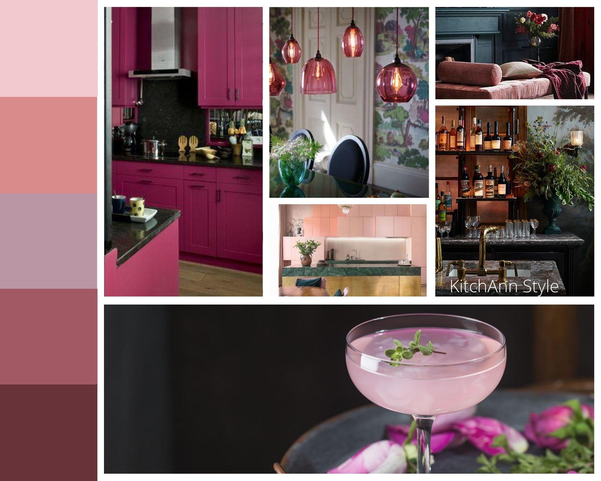 PANTONEVIEW Home + Interiors 2021 Fleur Mood Board