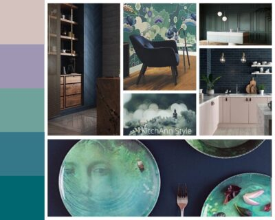 PANTONEVIEW Home + Interiors 2021 Synergy Mood Board