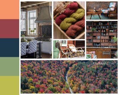 PANTONEVIEW Home + Interiors 2021 Folkloric Mood Board