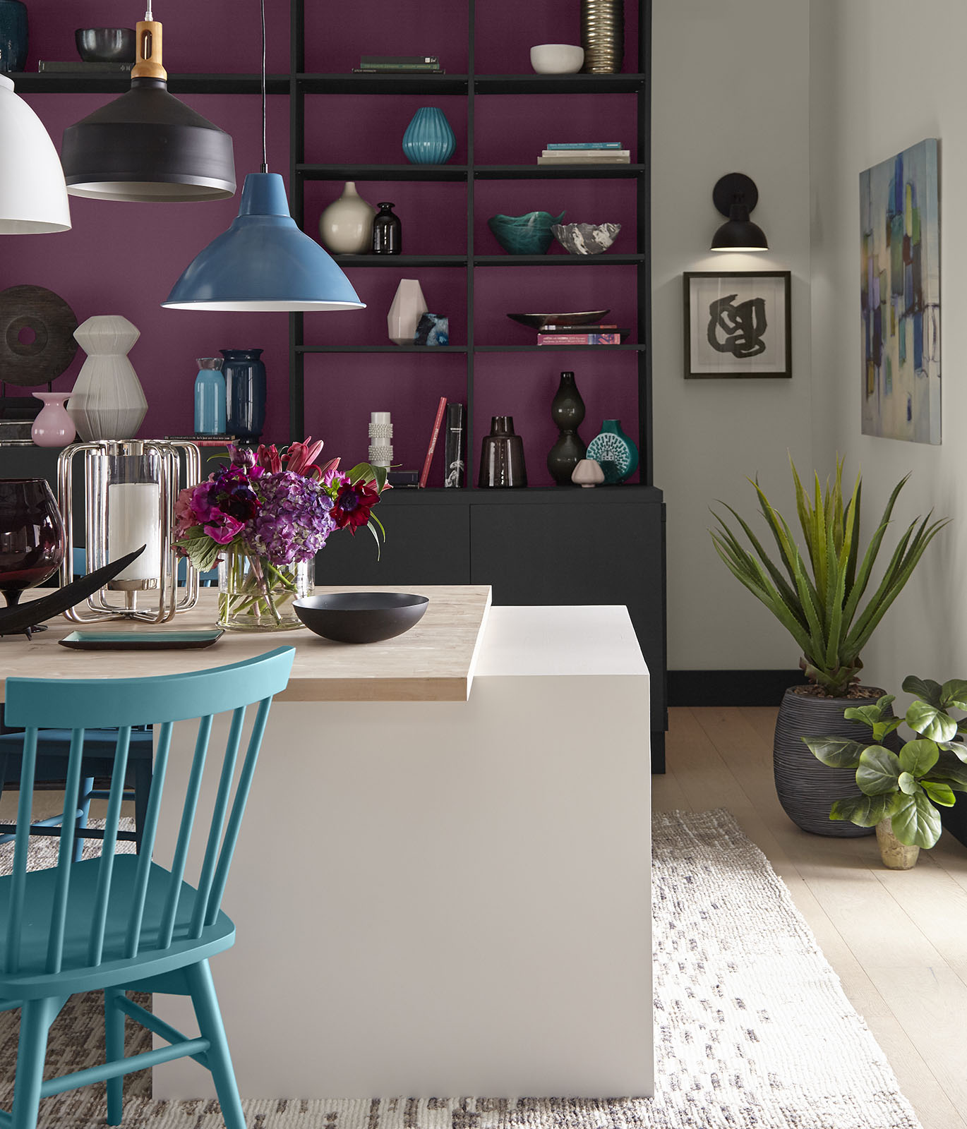 BEHR Color Trends 2021 Optimistic View Interior Color Inspiration