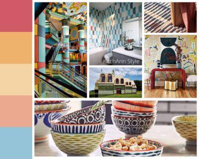 PANTONEVIEW Home + Interiors 2021 Quixotic Mood Board