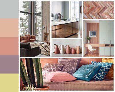 PANTONEVIEW Home + Interiors 2021 Terra Cotta Color Story