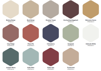 PPG 2021 Palette of the Year - Be True