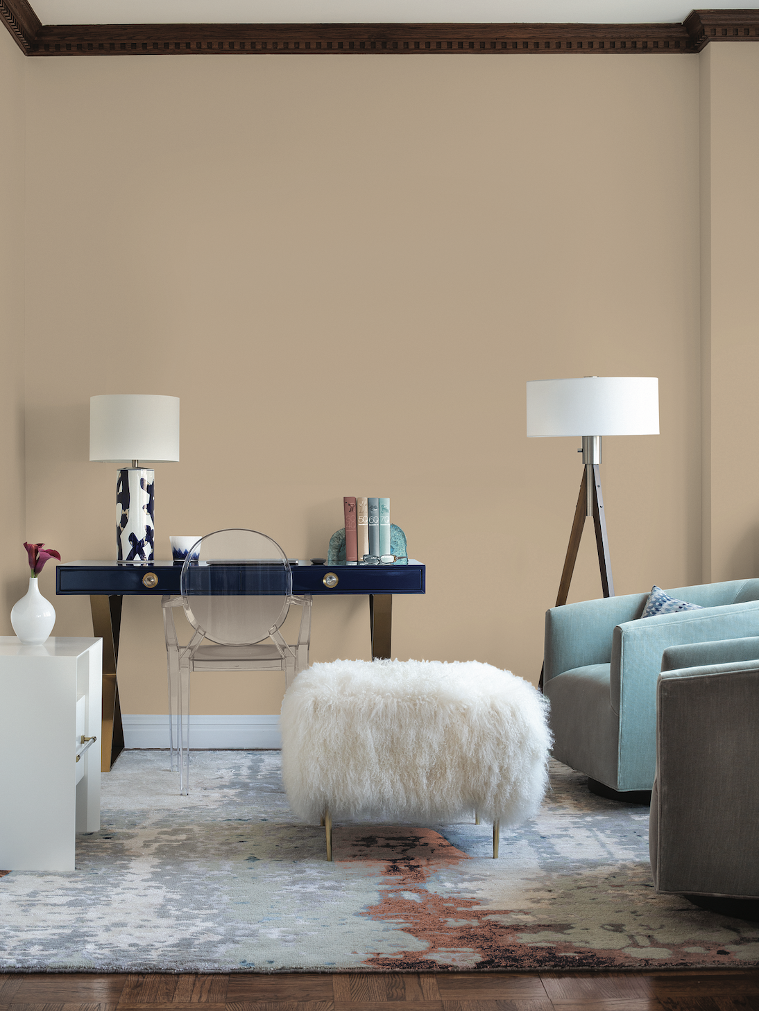 PPG 2021 Palette of the Year - Be Well Interior Inspiration