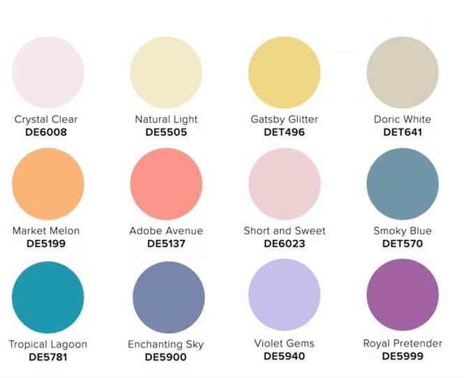 2022 COLOR + DESIGN Trends from Dunn-Edwards Elysian palette