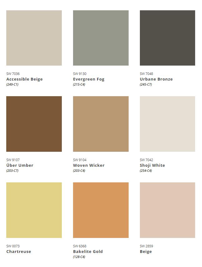 ColorMix Forecast 2022 Method Palette