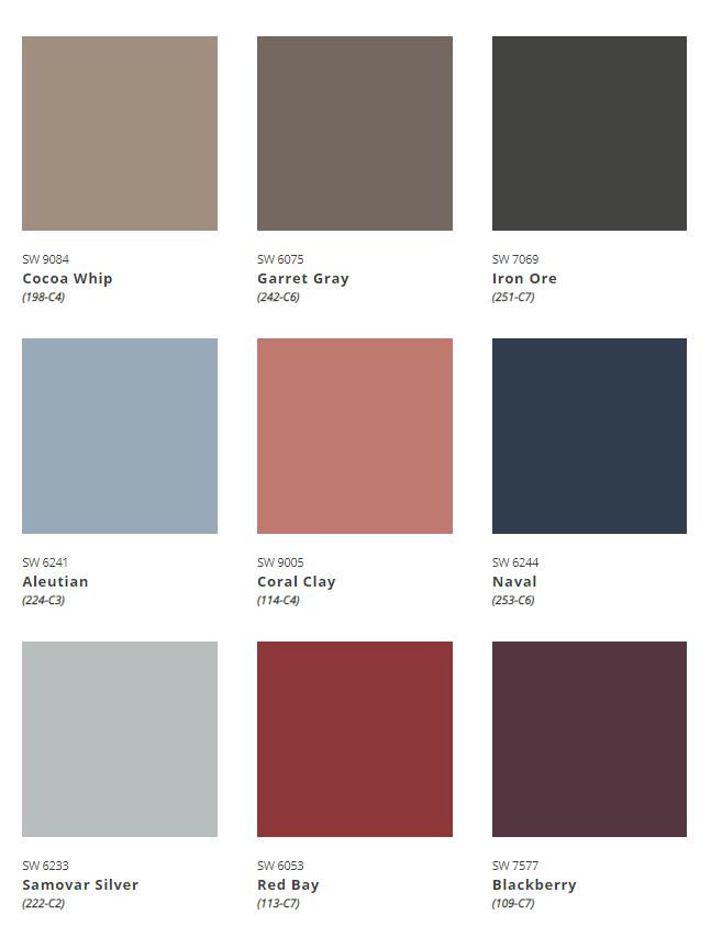 ColorMix Forecast 2022 Opus Palette